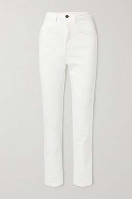 Philosophy di Lorenzo Serafini Mid-rise Straight-leg Jeans - White