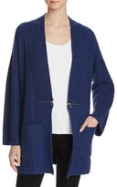 Sutton Studio Chunky Ribbed Cardigan