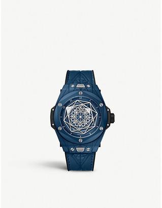 Hublot 415.EX.7179.VR.MXM19 Big Bang Sang Bleu ceramic watch
