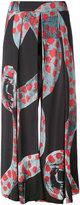 Henrik Vibskov brush print 'Tommy' trousers - women - Lyocell - M