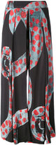Henrik Vibskov brush print 'Tommy' trousers - women - Lyocell - S
