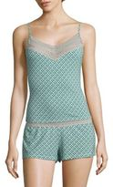 Saks Fifth Avenue Lori Diamond-Printed Camisole