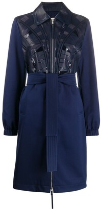 Emilio Pucci Sequin-Embellished Panelled Coat
