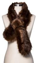 Women's Faux Fur Scarf - Merona