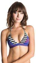 Roxy Women's Polynesia Mix Bikini Top