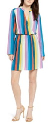 ALL IN FAVOR Lily Surplice Dress