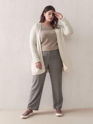 Cashmere-Blend Open Cardigan - Addition Elle