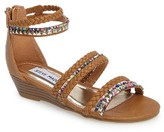 Steve Madden Girl's Hill Wedge Sandal