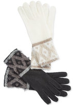 Charter Club Fair Isle Chenille Gloves, Only at Macy's