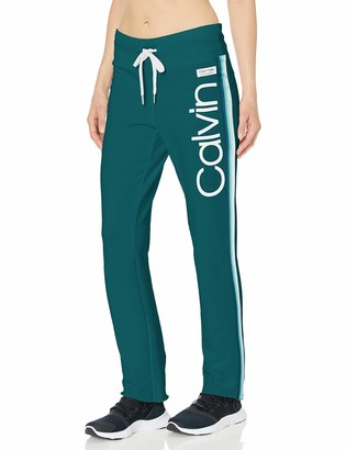 Calvin Klein Women's Calvin Logo High Waist Ankle Length Pant