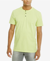Kenneth Cole Reaction Men's Sun-Print Cotton Henley