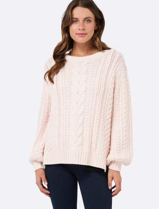 Ever New Loreen Knitted Cable Sweater