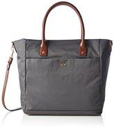 JOOP! Women's nylon MEDEA - tote large Shoulder Bag Grey