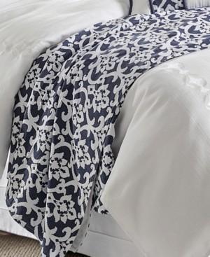 HiEnd Accents Kavali King Floral Jaquard Duvet Bedding
