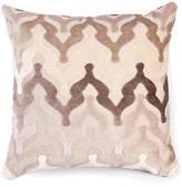 The Piper Collection Bella 22x22 Velvet Pillow - Neutral