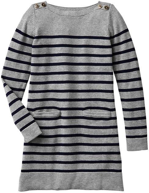 Gap Stripe sweater dress