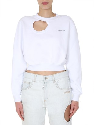 Off-White Cut-Out Sweatshirt