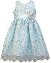 Jayne Copeland Floral Embroidered Dress, Toddler Girls
