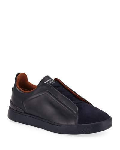 773dd5ce Men's Triple-Stitch Slip-On Low-Top Sneakers