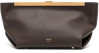 KHAITE The Aimee leather clutch bag