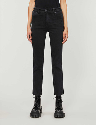 Paige Cindy high-rise stretch-denim jeans