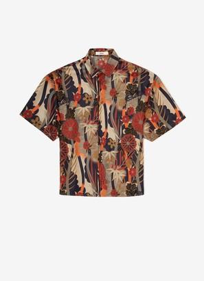 Bally Printed Silk Shirt