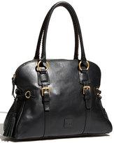 Dooney & Bourke 'Florentine Collection' Domed Leather Buckle Satchel