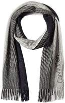 Calvin Klein Men's Ombre Stripe Scarf