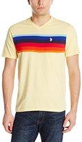 U.S. Polo Assn. Men's Chest Stripe V-Neck T-Shirt