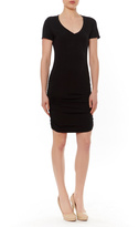 Michael Stars Ruched Side Mini Dress