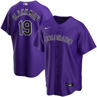 Nike Youth Charlie Blackmon Purple Colorado Rockies Alternate 2020 Replica Player Jersey