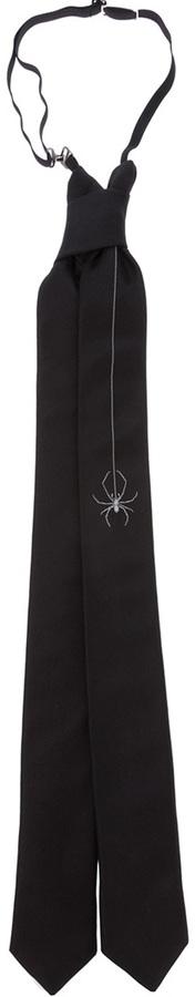 Christian Dior spider tie