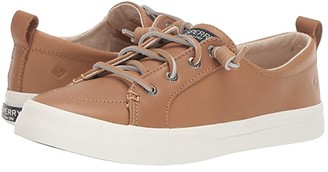 Sperry Crest Vibe Leather (Tan) Women's Shoes