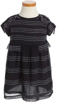 Burberry Toddler Girl's Freja Stripe Silk Dress