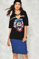 Nasty Gal nastygal Let Her Rip Distressed Tee