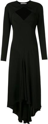 Reinaldo Lourenço Spaghetti-Strap Asymmetric Dress