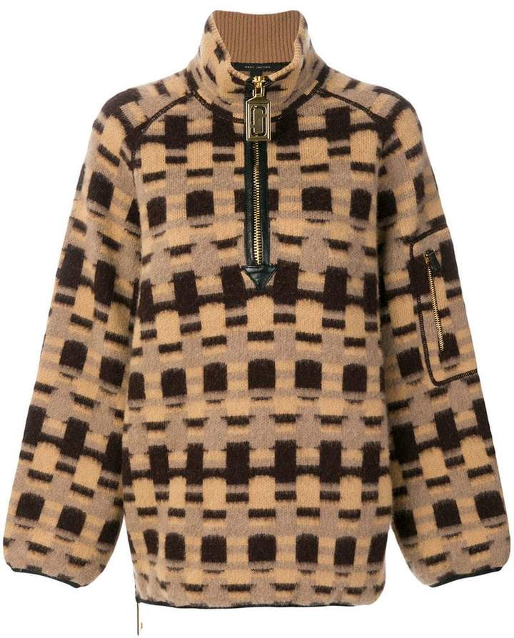 Marc Jacobs intarsia-knit pullover
