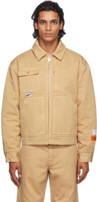 Heron Preston Tan Uniform Jacket