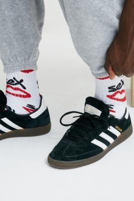 Urban Outfitters Sex Skateboards Allover Print White Socks 1-Pack - White ALL at