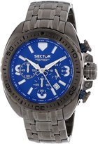 Sector Men's R3273573001 Racing 600 Analog Stainless Steel Watch