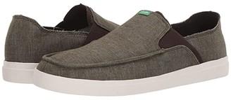 Sanuk Pick Pocket Slip-On Hemp (Black) Men's Shoes