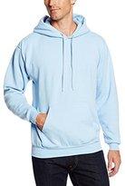 Hanes Men's Pullover EcoSmart Fleece Hoodie, Light Blue