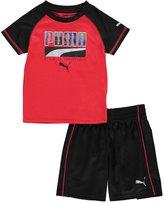"Puma Baby Boys' ""Raglan Mesh"" 2-Piece Outfit"