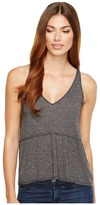 Michael Stars Brooklyn Jersey V-Neck Trapeze Tank Top Women's Sleeveless