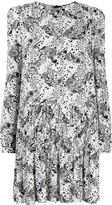 Pinko All-Over Print Dress