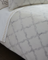 Vera Wang Queen Fretwork Duvet Cover
