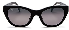 Maui Jim Women's Capri Polarized Cat Eye Sunglasses, 51mm