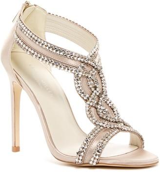 Karen Millen Crystal Embellished Dress Sandal