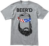 Customised Perfection Beer'd Beard Beer Hipster Redneck Funny T Shirt M Grey