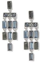 Vince Camuto Gem Drops Crystal Statement Chandelier Earrings